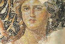 Ancient Pottery, Mosaics, and Archaeological Digs / Archaeological digs are so Fascinating-especiallywhen they come up with beautiful pottery, mosaics, and the like!