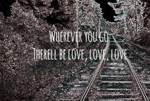 Lyrics / by Olivia Garris