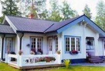 Case di legno - Wooden houses - Casas de madera