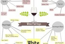 Wine Pairings / combinations! What wine goes with what food.