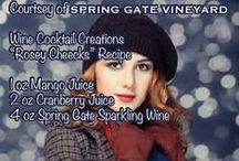Wine Recipes / Concoctions with wine! yum.