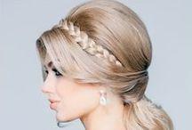 Wedding Hairstyles   Peinados de novia / Ideas de peinados de novia para tu boda: moños, recogidos, semirecogidos, ondas, trenzas y muchos más estilismos.