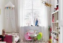 Inspiration Board for a Modern Girly Toddler Room