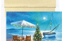 2016 - Warm Weather Tropical Beach Christmas Cards Collection / The 2016 Warm Weather Tropical Beach Christmas and Holiday card collection from MyCards4Less.com