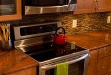 Collins Tile and Stone Kitchens / Remodeled Kitchens