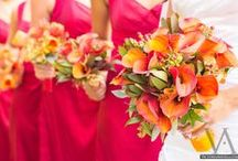 Orange Calla Lily Weddings