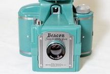 Vintage Cameras / A collection of vintage cameras of all types.