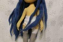 dolls / by Cheryl Powell