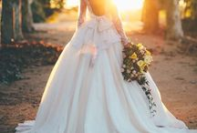 Wedding // Dresses / Dreaming about the big day / by Heather Carlson