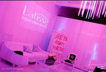 TLS: Latisse Launch Party / The Lighter Side | specialeventlighting.com
