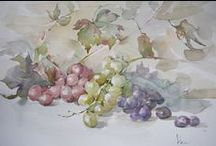 ACQUERELLI - Frutta e verdura