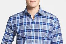 Men's Classic Plaid Shirts: A Staple of a Man's Wardrobe / All about the history of plaid, how to wear it and ideas of what to wear!