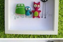 Trop fun / Idées de bricolages marrants, cadeaux pour enfants. Univers animaux. Diy. Couture, collages, loisirs créatifs.