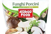 Funghi surgelati / Un bouquet di sapori e aromi del bosco sulla tua tavola.