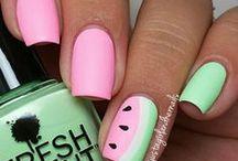 Nails spring-summer