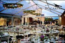 Bodas de ensueño / Dream wedding / http://www.bc-carpas.com/product/carpa-transparente/