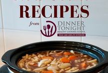 Slow Cooker Recipes / Healthy slow cooker recipes that are easy to fix, delicious, and economical as well