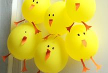 Easter makes and decor