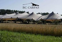 Carpa tensada o Jaima / Tight, stretched tent / La carpa tensada o jaima es una nueva opción de carpa de alquiler.  http://www.bc-carpas.com/product/carpa-tensada/