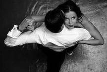 """Tango je objem."" (B. Svit) / Dance me to the end of love ... / by Mojca Mojč"