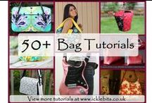 DIY Bag Tutorials / Making handbags, messenger, satchel, clutch bags etc