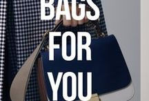Bags For You / Your perfect accessory partner, you can find bags for all occasions, seasons and materials, from tote, backpacks, clutches. Made from leather, fabric, artificial leather. Everything is here that you need.