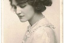 Vintage obrázky - ženy
