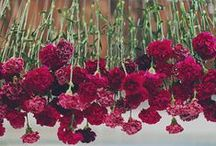 make it rain flowers / cascading floral styling SWOON