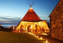 Under the big top / You can tie the knot ANYWHERE with the right tent to do it under