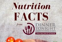 Nutrition Facts / Get the facts on some of your favorite foods!