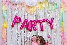 Party backdrops