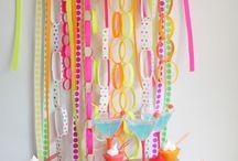 Party colour schemes