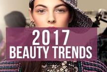 2017 Beauty Trends / Find here the best beauty trends of 2017.