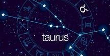 """Tremendous Taurus ♉️ / Out of all the signs, nobody sticks to their guns quite like a Taurus. They are traditionally excellent workers who put an emphasis on organization. Taurus can, on occasion, be """"bull-headed"""" but they will always have their friends' back. People born under Taurus will also tend to have a love of music and a great sense of humor."""