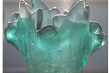 Form: Glass / Clear, translucent, opaque; flow made fixed, liquid made solid. / by Heather Trossman