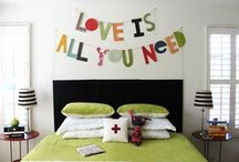 Home Sweet Home / DIY ideas, crafty projects and inspiration to create a beautiful room.