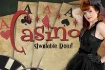 Casino / Casino Mesh Corsets...beautiful and desirable!