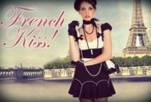 """French Kiss / A stunning mini collection inspired by passion, lust, and all things French... Ooh La La!... This is """"French Kiss!"""""""