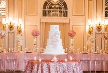 .: Pink & Gold Weddings :. / #grandrapidsbride #grandrapids #grandrapidsmichigan #wedding #weddings #bride #bridal #GR #Colors #colorful #cakes #weddingring #rings #weddingplanner #weddingfloral #weddingdecor #weddingrentals