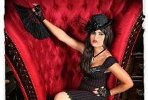 Lust / A decedent collection of Ruby Red and Black Lace... Lust is elegant, timeless, classic, and passionate!