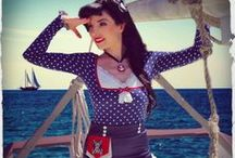 Hello Sailor / Kitten D'Amour's latest 'Nautical' Collection for May 2014!