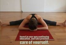 Yoga Teacher Training Quotes / Need a little inspiration in your yoga teaching practice?