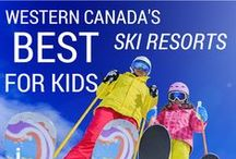 Ski Resorts / Skiing is epic in Canada with a huge range of resorts! Here are the spots we love to ski, the best family friendly resorts, and how to make your mountain vacation  the best it can be!