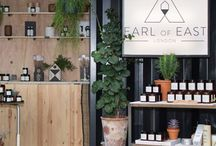 EARL OF EAST - STORE / Our Netil Market store located in a converted shipping container in Hackney, East London