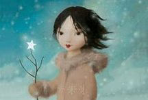 """Seasons:  Winter / """"I get a little warm in my heart when I think of Winter.""""  Tori Amos / by Sara Hargis"""