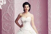 A-line wedding dresses / Flattering A-line wedding dresses for brides that want to add a bit of princess style to their look.