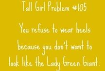 Tall&CurlyHairProblems / by Alana Jo