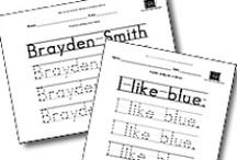 Handwriting Helpers / by Lynn Rucarean
