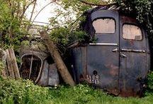 Derelict, decayed