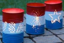 Patriotic Holiday's / Fun ideas for 4th of July and Memorial Day for the family.  Fun snacks, activities, crafts, and more!